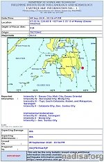 Strong and shallow M6.4 earthquake hits Mindanao, Philippines