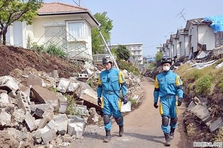 Землетрясение в Японии: 5 человек погибли, 300 ранены