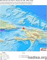 Shallow M5.9 earthquake hits Haiti, leaving at least 11 people dead and dozens injured