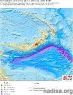 Very strong and shallow M7.0 earthquake, strong aftershocks hit P.N.G.