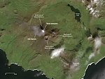 Eruptive events detected at Semisopochnoi, alerts raised to Orange/Watch, Alaska