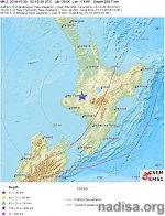 Deep M6.2 earthquake under North Island, New Zealand