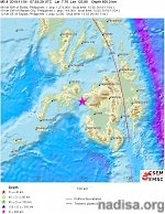 Very deep M6.0 earthquake shakes Mindanao, Philippines