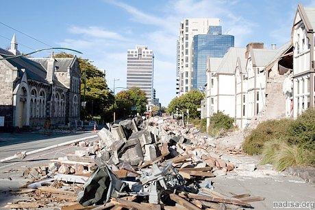 Землетрясение сдвинуло острова Новой Зеландии