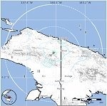 M6.1 earthquake hits eastern Papua, Indonesia