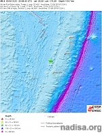 Strong M6.4 earthquake hits Tonga at intermediate depth