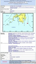 Very strong M7.2 earthquake hits near the coast of Philippines, tsunami warning issued