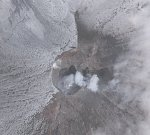 Short-lived explosion at Cleveland volcano, ash to 5.2 km (17 000 feet), Alaska