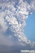 Strong eruption at Sheveluch volcano, ash to 11 km (36 000 feet) a.s.l., Russia