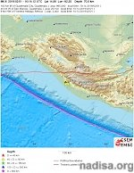 Strong M6.6 earthquake hits Chiapas, Mexico