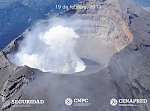 New lava dome forms on Popocatepetl volcano, Mexico