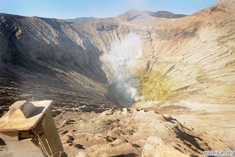В Индонезии «вспыхнул» вулкан Бромо