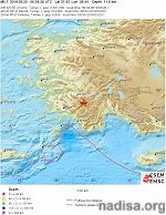 Shallow M5.7 earthquake hits western Turkey, numerous aftershocks shaking the region