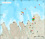 Earthquake swarm shaking Tjörnes Fracture Zone, Iceland