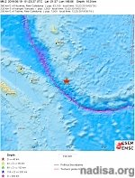 Shallow M6.3 earthquake hits off the coast of Loyalty Islands, New Caledonia