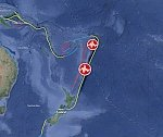 Powerful M7.4 earthquake hits Kermadec Islands Region, New Zealand