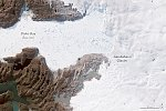 Largest glacier in Greenland is growing for third year in a row, thickening occurring across an increasingly wide area