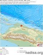 Strong and shallow M6.3 earthquake hits Papua, Indonesia