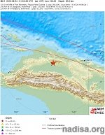 Strong and shallow M6.1 earthquake hits northern Papua, Indonesia