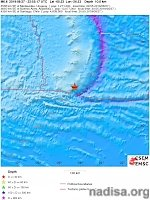 Strong and shallow M6.6 earthquake hits South Sandwich Islands