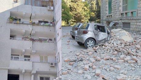 Землетрясение с афтершоками в Албании: 44 пострадавших и разрушенные дома