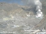 Increased activity at White Island volcano, New Zealand