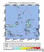 Very strong M7.1 earthquake hits Molucca Sea, Indonesia — tsunami warning issued