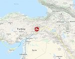 Strong and shallow M6.9 earthquake hits eastern Turkey