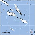 Strong and shallow M6.3 earthquake hits near the coast of Solomon Islands