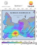 Earthquake swarm, upplift west of Mt. Thorbjorn volcano continues, Iceland