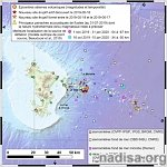 Authorities plan emergency and safety measures as seismic activity continues at new underwater volcano near Mayotte