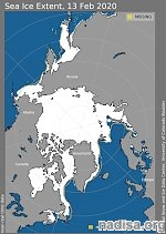 Arctic sea ice sees drastic recovery, reaches largest early February ice extent in 11 years