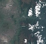 Satellites detect very rapid deformation of Tungurahua's west flank, possibly leading to a colossal landslide, Ecuador
