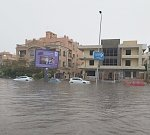 Heavy rains hit Egypt, causing severe flooding and major traffic disruptions