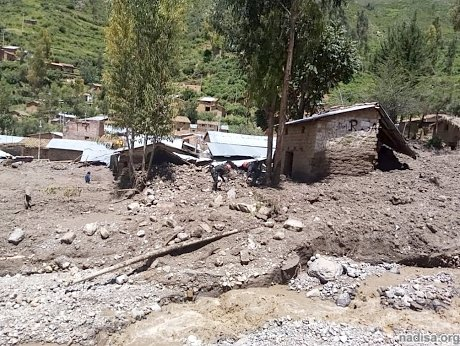 At least 3 dead as heavy rains continue to batter Peru, around 300 homes damaged in flash floods and landslides