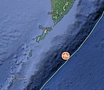 Very strong M7.5 earthquake hits off the coast of southern Kamchatka, Russia