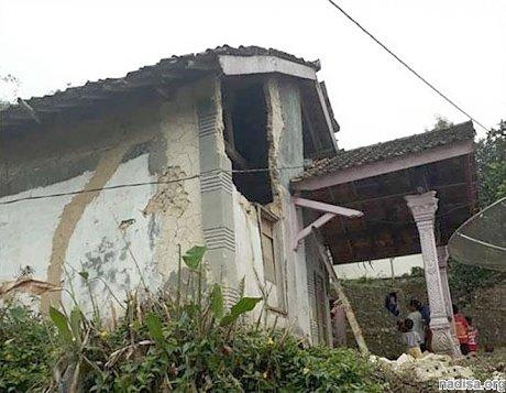 На индонезийском острове Ява произошло разрушительное землетрясение