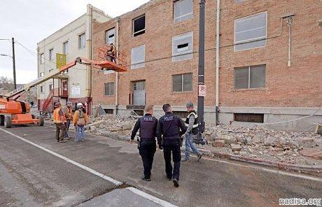 Сильное землетрясение в штате Юта оставило без света тысячи людей