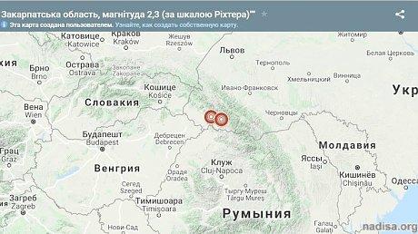 На Западной Украине к потопу добавились два землетрясения