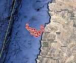 Shallow M6.5 aftershock hits near the coast of Atacama, Chile