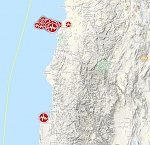 Strong and shallow M6.3 earthquake hits near the coast of Coquimbo, Chile
