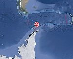 Shallow M6.0 earthquake hits South Shetland Islands, Antarctica