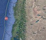 Strong and shallow M6.7 earthquake hits off the coast of Los Lagos, Chile