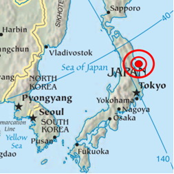 Japan earthquake forecast